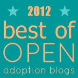 Best of Open Adoption Blogs2012