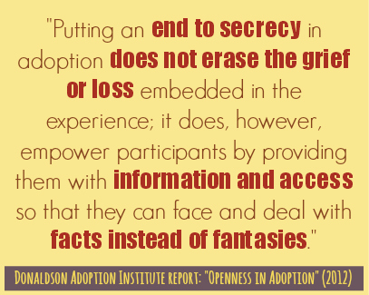 Adoption Quotes Prepossessing Open Adoption Quotes  Open Adoption Bloggers